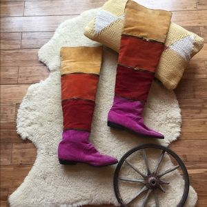80's Over the Knee Boots